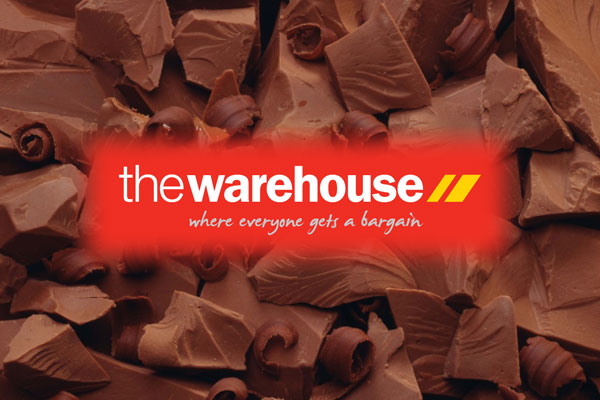 Win your height in chocolate thanks to The Warehouse