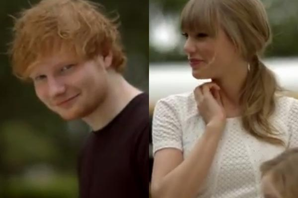 Taylor Swift feat. Ed Sheeran - 'Everything Has Changed' - the video