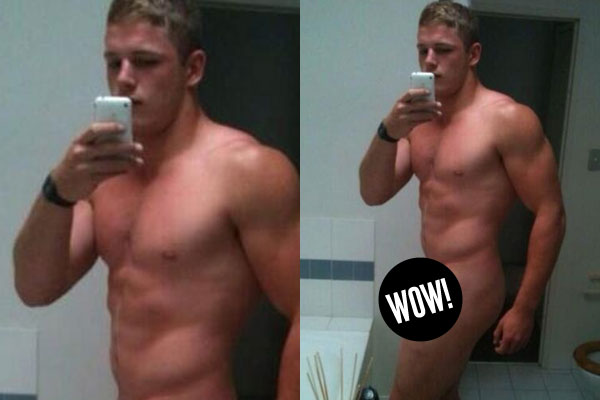 Aussie league star's fully nude selfies end up online! (Warning: R18 - NSFW)
