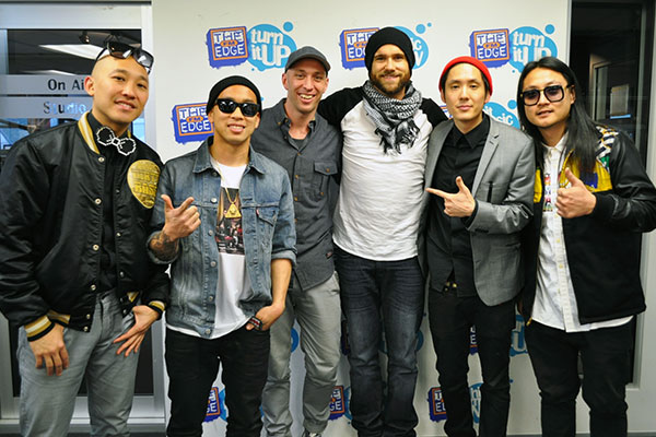 Fletch & Vaughan chat to Far East Movement live in studio