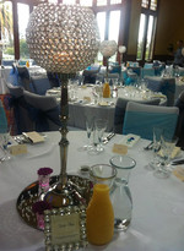 Table settings look amaze
