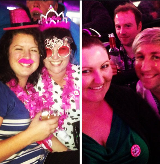 The Edge #SameSexWedding has kicked off! On the way to the stag & hens dos in Rotorua on The Edge Party Bus!