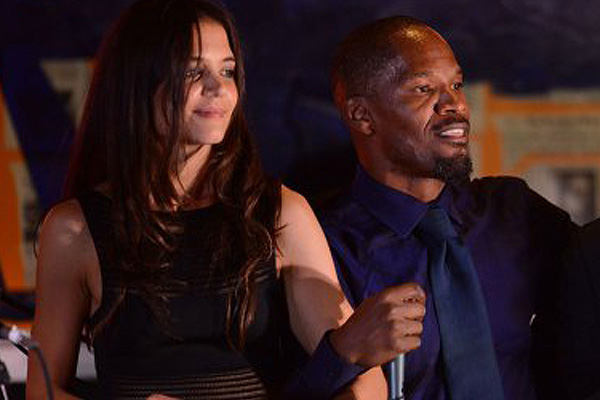 Are Jamie Foxx & Katie Holmes Hollywood's newest couple?