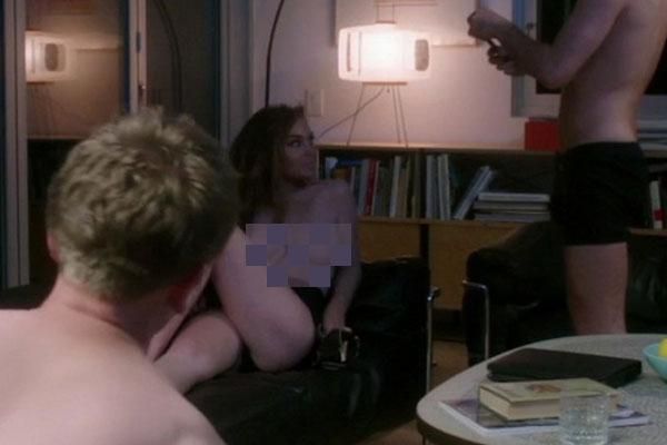 Lindsay Lohan strips off in new movie 'The Canyons'