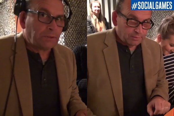 Paul Henry comes to dinner at The Social Games arena