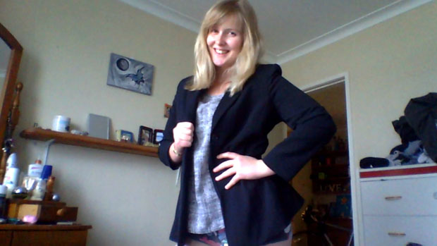 My mum's blazer has been my go-to item ever since I landed my new job straight out of University... I reckon it gives me confidence and good luck! 20 years old, and I'll probably pass it on when I don't need it anymore!