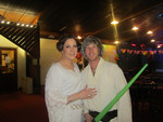 This was by far the funnest and and favourite outfit I have been able to wear for a while :) Im wearing Princess Leia Outfit and my Husband is wearing Luke Sky Walker for my 30th birthday party!