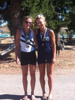 My sister and I at New Zealand Rowing Champs, I am the one in the blue! Unless you row or have rowed before. You have absolutely no idea how flippin comfortable a rowsuit is. At this regatta, I had lost the race that we were winning 100m to go until a gear breakage but had just medalled in a race we all thought had no chance in. Blood, sweat and tears in this lycra badboy!