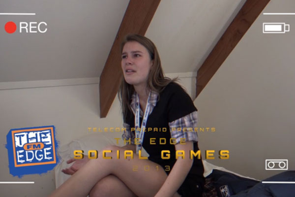 Kathryn has a meltdown at The Social Games Arena