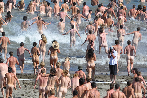 The Edge officially holds The Guinness World Record for Largest Skinny Dip!