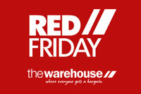 Competition:First in first served at The Warehouse Red Friday