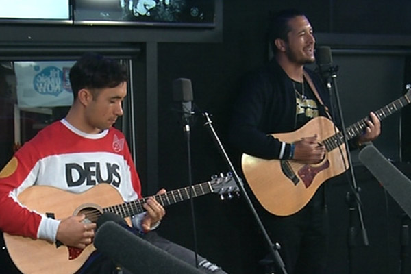 Six60 perform 'Special' live and acoustic at The Edge