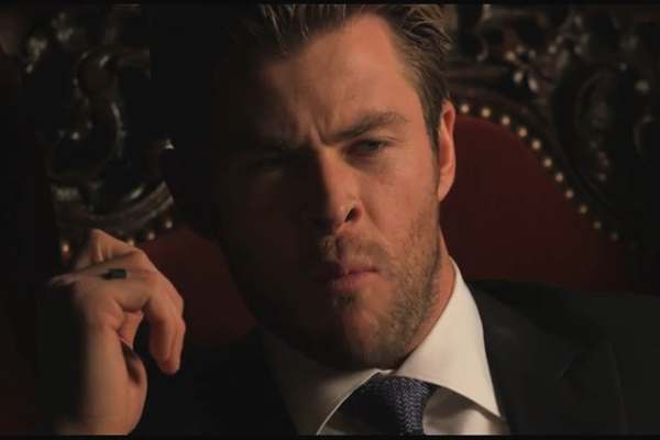 Liam and Chris Hemsworth re-enact Charlie Bit My Finger