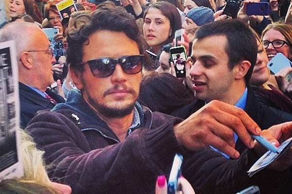 Has James Franco been trying to woo an underage girl?