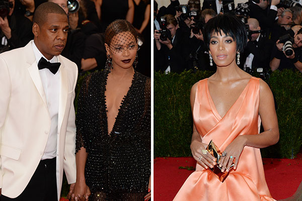 Beyonce's sister Solange attacks Jay Z in an elevator — Watch
