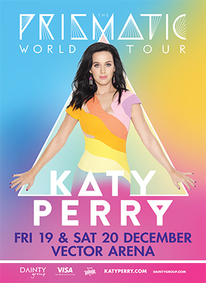 Katy Perry Prismatic World Tour in New Zealand