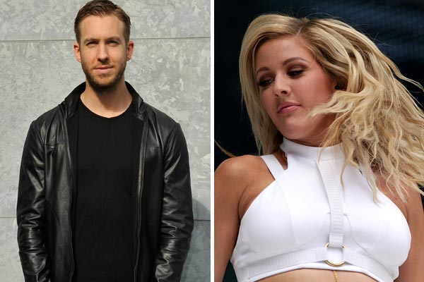 Are Ellie Goulding and Calvin Harris hooking up?