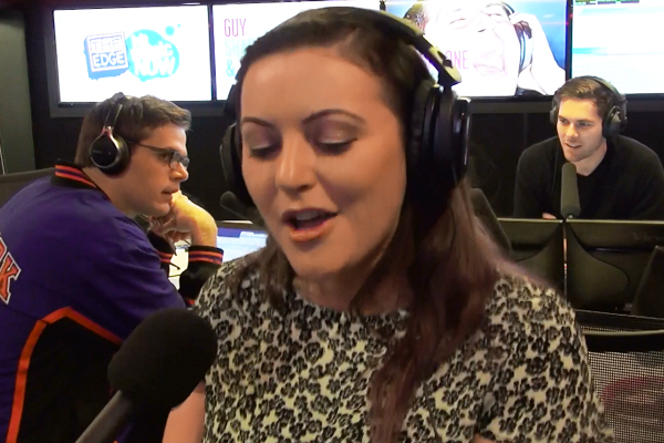 Sharyn wrecks Karmin's 'Pulses' in Headphone Karaoke