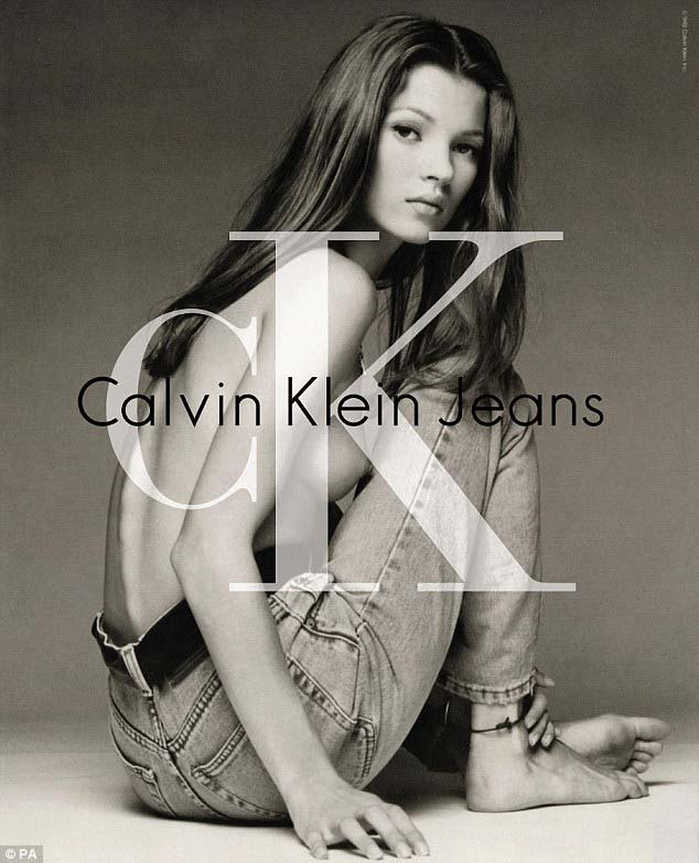 Kate Moss made her Calvin Klein debut back in 1992 when she was 18