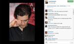Bieber's Insty post mocking Orlando Bloom
