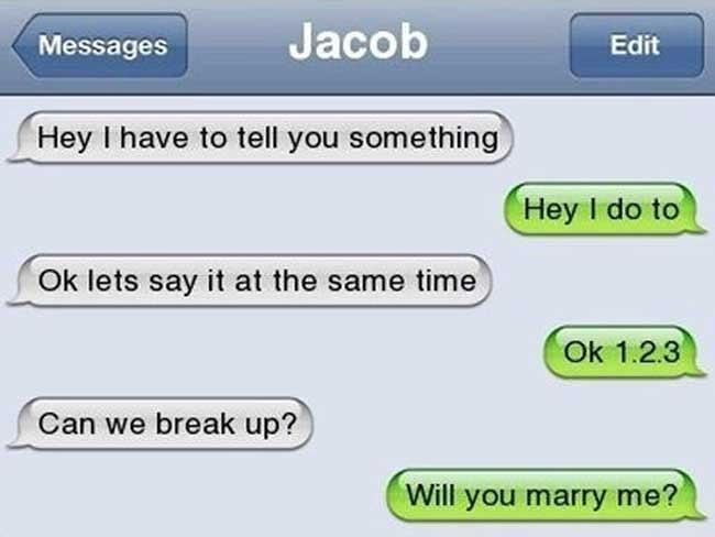 The most epic break-up texts ever