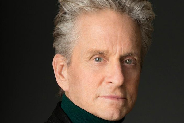 Aging actor Michael Douglas may be losing it!