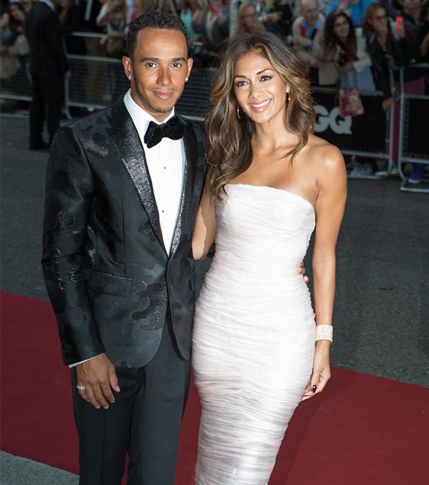 Lewis Hamilton & Nicole Sherzinger - AAP Images