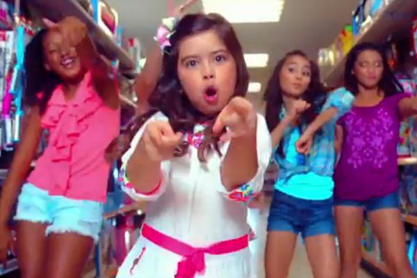 "Sophia Grace releases hiphop music video, ""Best Friends"""