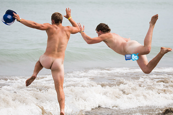 The Edge Skinny Dip 2014 - all the naughty pics!