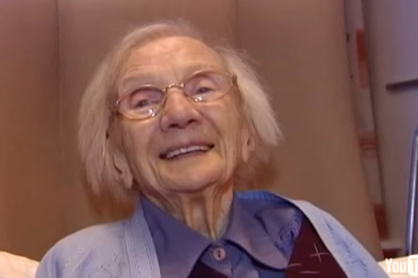 109 year old woman says secret to long life is avoiding men