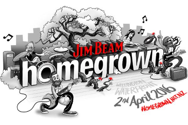 The Edge Brings You Jim Beam Homegrown 2016