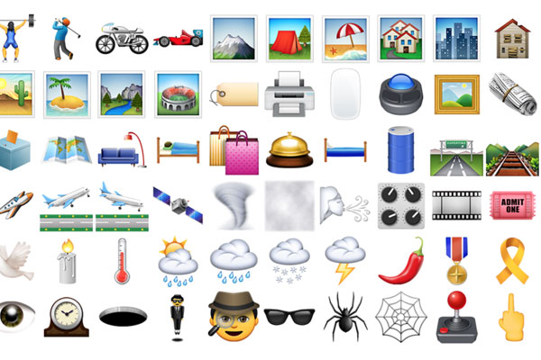 New emojis are FINALLY HERE!