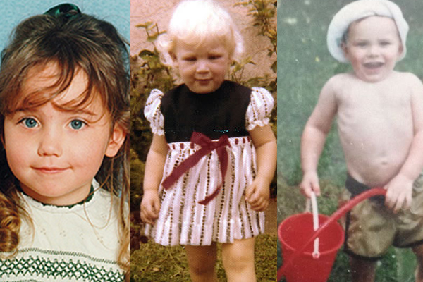 Guess The Edge announcer by their childhood photo!