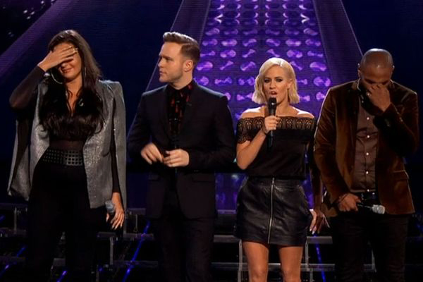 Something happened on The X Factor which apparently 'proves it's all a fix'