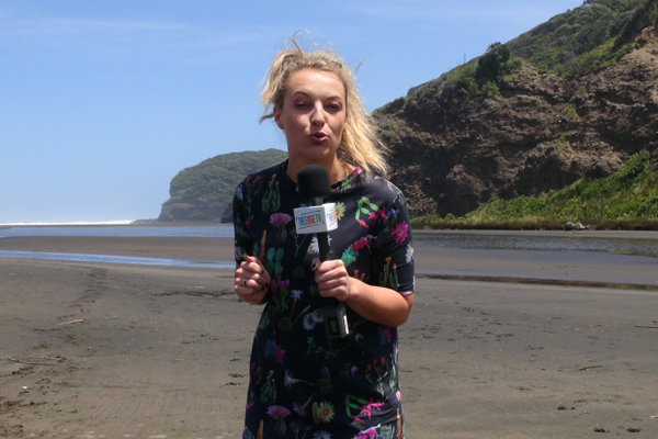 Steph reports LIVE from Taylor Swift's NZ music video shoot
