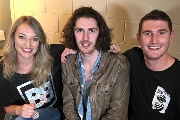 Hozier talks Taylor Swift's squad and if he's in it!