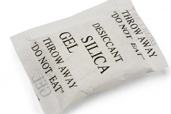 Why you SHOULDN'T throw away those little silica packets