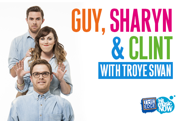 Guy, Sharyn & Clint talk nipples with Troye Sivan