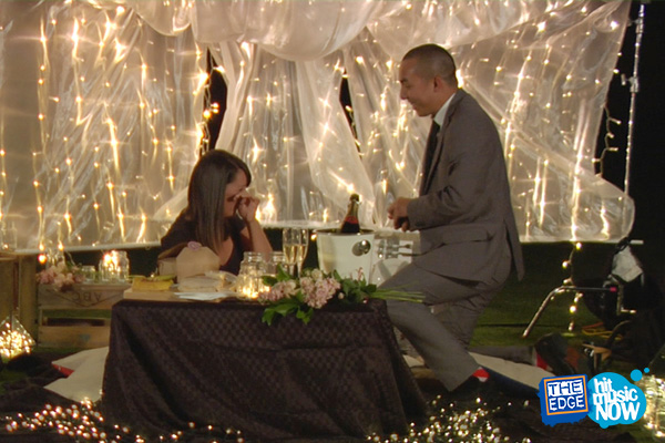 PHOTOS: All the pics from Chang's surprise proposal