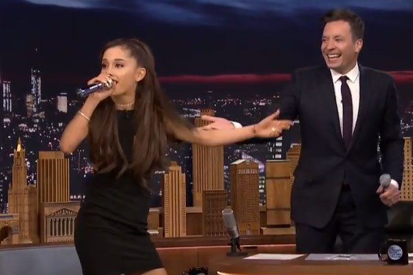Ariana Grande's Celine Dion impersonation is actually perfect