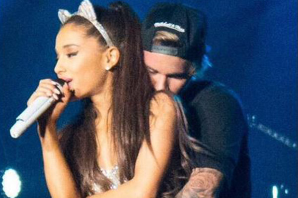Justin Bieber grinds Ariana Grande onstage and Big Sean is furious