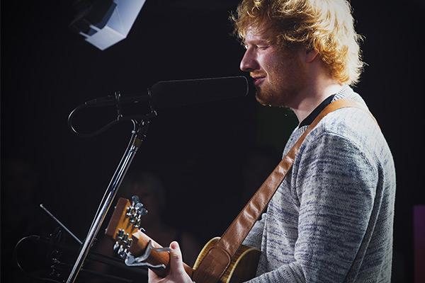 ALL the pics of Ed Sheeran live at The Edge!