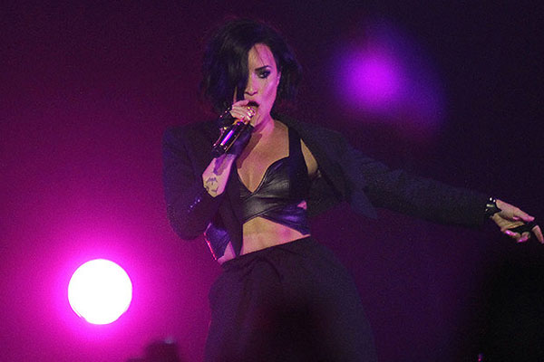 All the pics from Demi Lovato's Auckland Vector Arena show