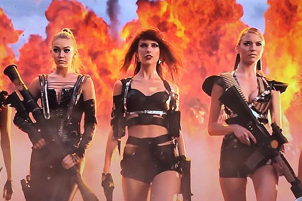 Taylor Swift's bad Blood music Video is here!