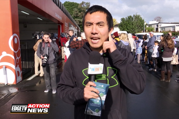 Edge TV Action News: Chang on location with the Seal on the loose