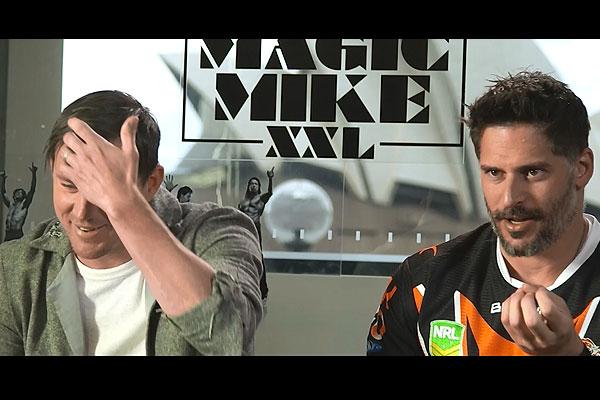 Mike interviews Channing Tatum and Joe Manganiello