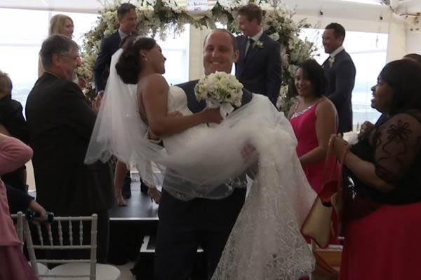 WATCH Aaron & Sade meet for the first time and MARRY!