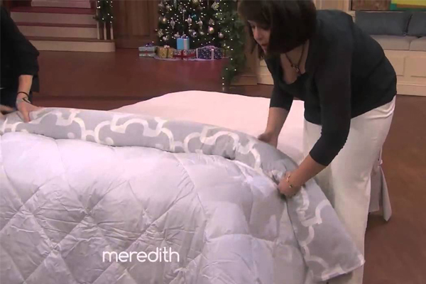 This duvet trick is the best life-hack EVER