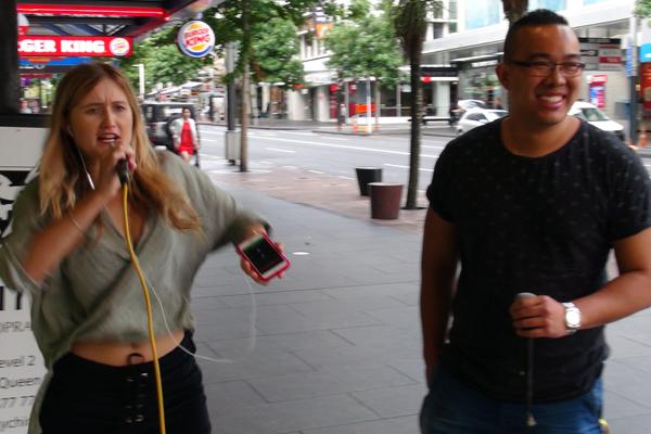 WATCH: Kerry goes on a Karaoke date on Queen Street