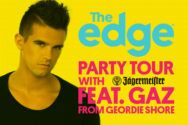 Guy, Sharyn and Clint Party Tour with Jagermeister feat. Gaz from Geordie Shore